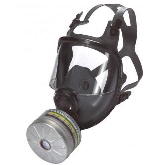máscara integral clase 2 honeywell n5400 rd40 silicona