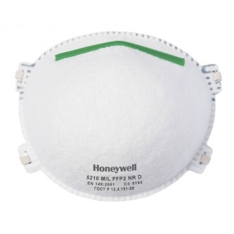 honeywell 5210 ffp2 sin válvula de exhalación