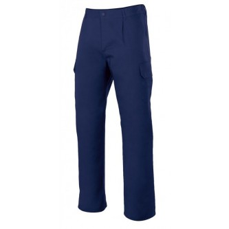 pantalón multibolsillos forrado velilla