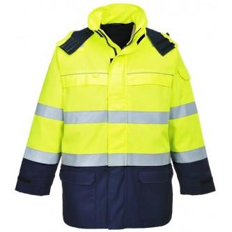 chaqueta de alta visibilidad bizflame multi
