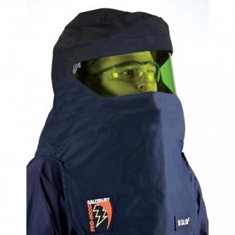 capucha de protección contra arco eléctrico pro hood 12 cal cm2