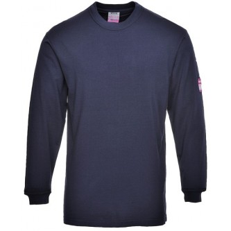 camiseta manga larga ignifugo y antiestático portwest