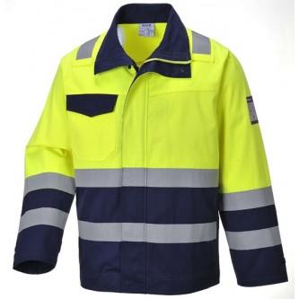 chaqueta de alta visibilidad modaflame mv25