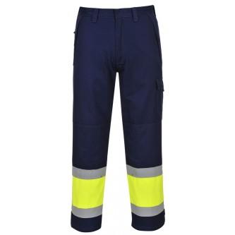 pantalón de alta visibilidad modaflame mv26