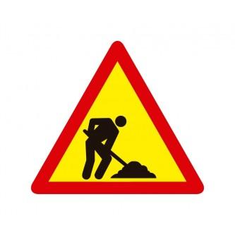 señal de obras