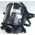 mascara integral panoramamasque elastómero negro con visor de metacritalto