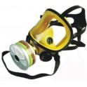 Mascara integral Panoramasque silicona amarilla con visor de metacritalto
