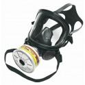 Mascara integral Panoramasque elastómero negro con visor de Vidrio laminado