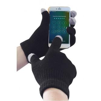 guante de punto touchscreen