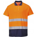 Polo Bicolor Cotton Confort