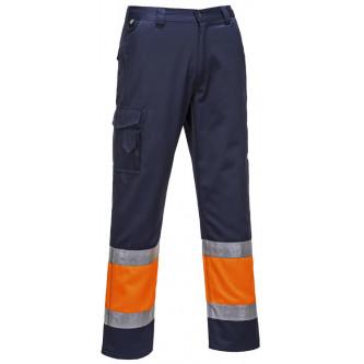 pantalón combat bicolor alta visibilidad