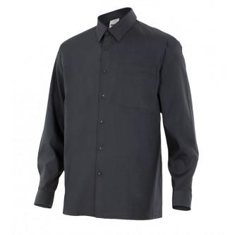 camisa manga larga con bolsillo velilla