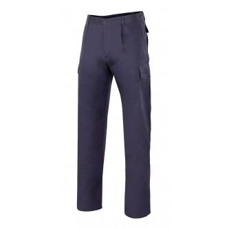 pantalón multibolsillos algodon velilla