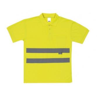 polo alta visibilidad amarillo velilla