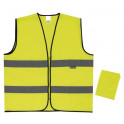 chaleco alta visibilidad amarillo flúor velilla