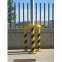 protección de acero barandilla angular 90º