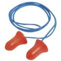 Tapones auditivos Max con cordón SNR 37